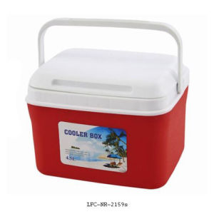 4.5L Portable Plastic Cooler, Ice Cooler Box, Plastic Cooler Box pictures & photos