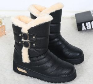 Factory Wholesale Snow Boots for Ladies pictures & photos