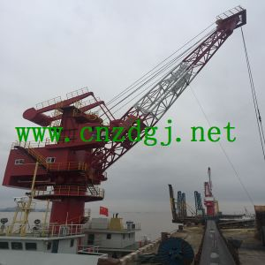 China Manufacturer Hydraulic Boat Capture Crane for Sale