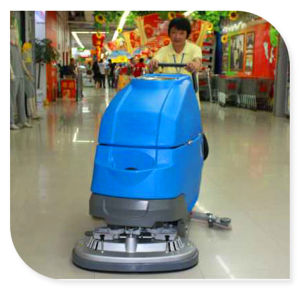 Surpermarket Floor Cleaning Scrubber Machine pictures & photos