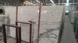 Golden Marble Cut to Size Tile for Engineering Panels pictures & photos