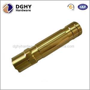 High Precision Professional CNC Machined Parts Brass Knurled Head Thumb Screw pictures & photos