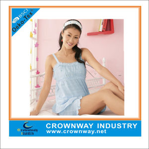 Women Comfortable Soft Cotton Sleepwear for Promotion pictures & photos