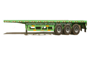 3 Axle 40ft Container Cargo Semi Trailer