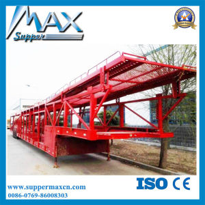 Car Loading Semi Trailer/ Cheap Car Truck Trailer for Loading 8-12 Cars pictures & photos