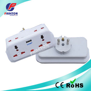 Europe Power AC Adaptor Plug with USB Charger pictures & photos
