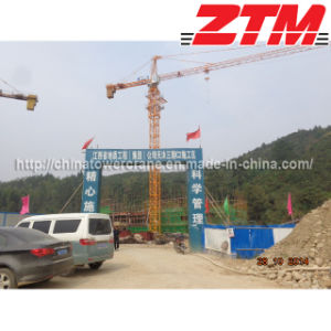 Tc5012-4 Topkit Tower Crane for Construction