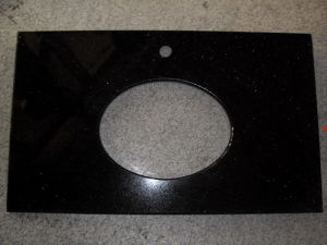 Black Granite Bathroom Vanity Top /Countertop pictures & photos
