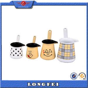Various Type Enamel Tea and Coffee Pot Set Sale pictures & photos