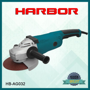 Hb-AG032 Harbor Electric Angle Grinder Mini Surface Grinding Machine