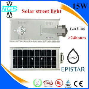 Outdoor 3 Rainy Days 24 Hours Solar LED Street Light pictures & photos