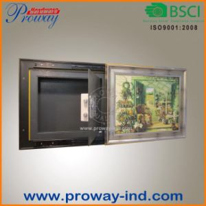 Electronic Lock Wall Safe Behind Picture pictures & photos