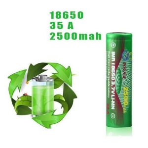 Imr 18650 3.7 Volt 2500mAh /35A Gpower Battery pictures & photos