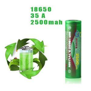 Imr 18650 3.7 Volt 2500mAh /35A Gpower Battery