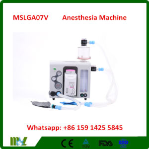 Medical Ce Approved Portable Anesthesia Machine/ Anesthesia Respirator (MSLGA07V)