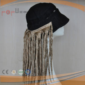 Hotselling Stock Cheap Price Women Synthetic Fiber Cap Wig pictures & photos