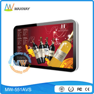 55 Inch LCD Advertising Display Player with USB SD Card (MW-551AVS) pictures & photos