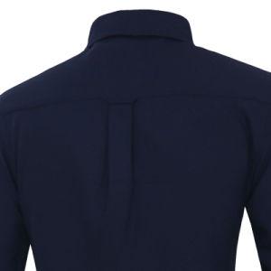 Custom Men′s Chest Pocket Slim Fit Black Dress Shirts (A429) pictures & photos