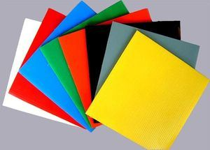 Corflute PP Corrugated Plastic Corriboard pictures & photos