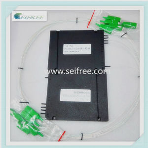 1*4 Optical PLC Splitter with SA Connector of ABS Box pictures & photos