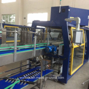 Auto Tray Feeding Wrapping Machine (WD-450A) pictures & photos