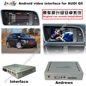 Android GPS Navigation System HD Car Video Interface for A5/Q5/A1 (3GMMI) pictures & photos