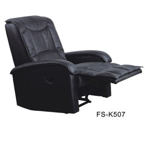 Fashion Faux Leather Home Furniture Lift Adjustable Recliner Sofa (FS-K507) pictures & photos