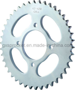 Rear Sprocket for Motorcycle Suzuki Hj150-3A pictures & photos