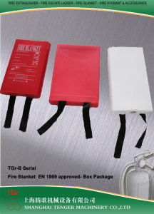 Fire Blanket-En 1869 (White PVC box) -Size by Order pictures & photos