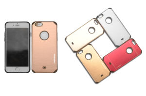 Titanium Allay+TPU Drop Resistance Armor Metal Mobile Phone Case for Motorola G4 Play (XSDD-023) pictures & photos