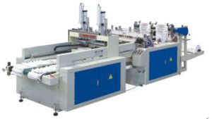 Plastic Material Plastic Bag Making Machine for T-Shirt Bag pictures & photos