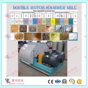 Red Chilli Grinding Hammer Mill for Solvent Extraction pictures & photos