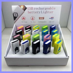 Multi Color Mini Rechargeable USB Lighter (1204) pictures & photos