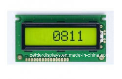 Character LCD Module 8X1 Line, Acm0801b-Fl-Gbh pictures & photos