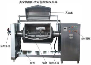 High Quality Automatic Vacuum Jacketed Cooking Pot pictures & photos