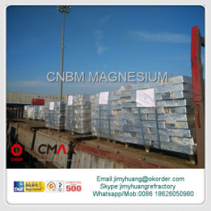 Mg9995 Pure Magnesium Ingot Mg 99.90%Min to 99.98% Max pictures & photos