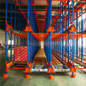 Warehouse Drive in Rack System, High Density Radio Shuttle Drive in Racking pictures & photos
