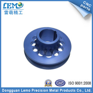 OEM Blue Anodized CNC Turning Parts (LM-0601B) pictures & photos