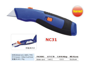 Zinc-Alloy Utility Knife (NC1579-1) pictures & photos