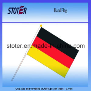 High Quality Polyester Germany Hand Waving Flag