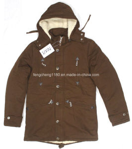 Man Winter Washing Cotton Twill Jacket/Coat