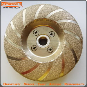Vacuum Brazed Metal Grinding Diamond Wheel pictures & photos