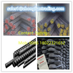 China / Turkey Good Quality Deformed Steel Bar for Construction pictures & photos