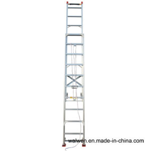 Multi-Purpose Aluminum Telescopic Firefighting Ladder pictures & photos