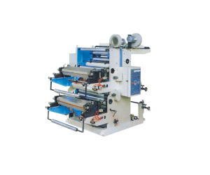 Small Two Colors Flexo Printing Machine pictures & photos