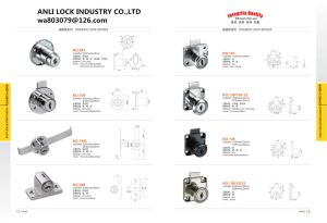 Black Drawer Lock, Rond Drawer Lock, Drawer Lock, Al-610b-40 pictures & photos
