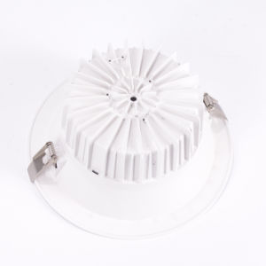 IP40 Dimmable Ugr<19 3/4/6/8 Inch COB Downlight LED Lamp of Die Cast Aluminium pictures & photos