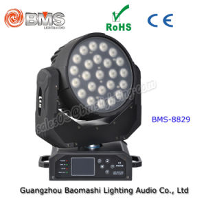 24 4in LED Moving Heading RGBW Wash Light