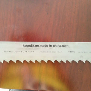 Hard Steel Cutting Bandsaw Blades pictures & photos