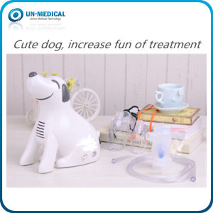 Lovely Dog Design Compressor Nebulizer for Home&Clinical Use pictures & photos